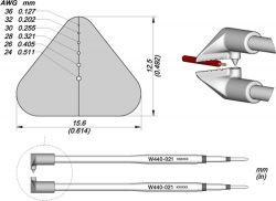 Сменные ножи JBC W440-021