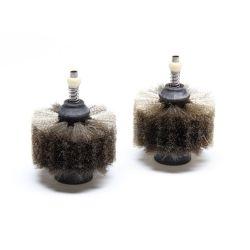Щётки металлические JBC CLMB-A8 для очистителя наконечников CLMB-A (чёрные)