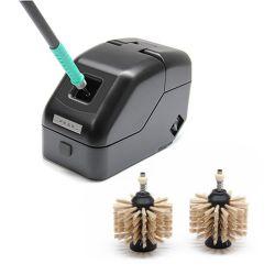 Очиститель наконечников JBC CLMB-PA с неметаллическими щётками