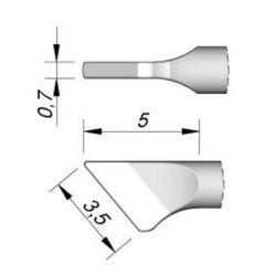 Наконечник JBC C115-111 ножевидный 3,5 х 0,7 мм