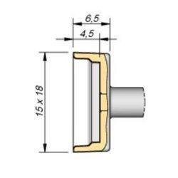 Наконечник JBC C245-228 QFP/PLCC 12,4 x 15,0 мм