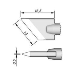 Наконечник JBC C245-955 ножевидный 13,0 х 0,5 мм