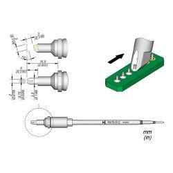 Наконечник JBC R470-026 для пайки выводов по линии 0,75 мм