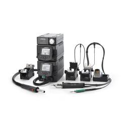 Профессиональная ремонтная станция JBC RMSE-2D с электрическим компрессором MSE-A и термовоздушным блоком