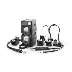 Профессиональная ремонтная станция JBC RMSE-2E с электрическим компрессором MSE-A и термовоздушным блоком